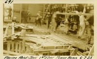 Lower Baker River dam construction 1925-06-07 Placing Reinf Steel 1st Floor Power House