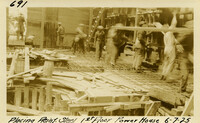 Lower Baker River dam construction 1925-06-07 Placing Reinf Steel 1st Floor Power House