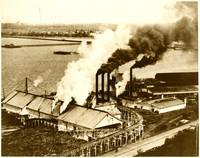 Bellingham Bay Improvement Company Mill, 1890