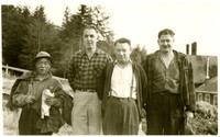 Four Kasaan Cannery workers