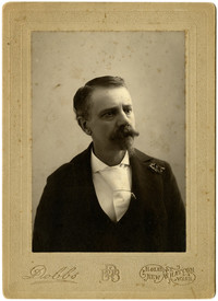 Frederick H. Adams studio portrait