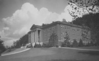 1935 Edens Hall: Front and South