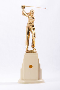 Golf (Men's) Trophy: No inscription, undated