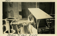 Lower Baker River dam construction 1925-08-02 Rotor #2 Unit