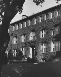 1954 Old Main: Main Entrance