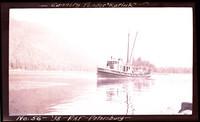 """Cannery tender """"Karluk""""  in Alaskan waters"""