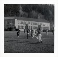 1965 Boys Playing Football