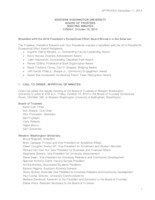 WWU Board of Trustees Minutes: 2014-10-10