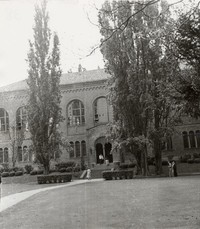 1955 Library: North Facade