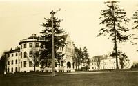 Denny and Thompson Halls, University of Washington