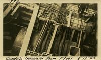 Lower Baker River dam construction 1925-06-17 Conduits Generator Room Floor Power House