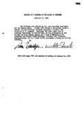 WWU Board minutes 1957 February