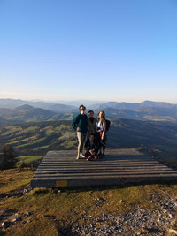 Beauty of Austria and Friendship