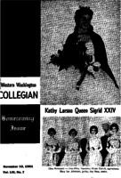 Western Washington Collegian - 1961 November 10