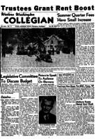 Western Washington Collegian - 1954 January 29