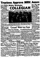 Western Washington Collegian - 1955 October 21
