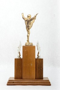 Football Trophy: Most Valuable Player (back), 1960/1965