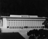 1965 Bond Hall: Architectural Model