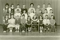 1962 Second Grade Class with Marcia Grabfelder