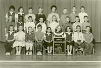 1962 Second Grade Class with Marcia Grabfelder