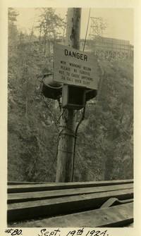 Lower Baker River dam construction 1924-09-19 (warning sign)