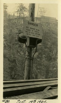 Lower Baker River dam construction 1924-09-19 (warning sign)