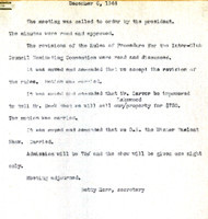 AS Board Minutes 1944-12