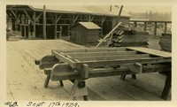 Lower Baker River dam construction 1924-09-17 Form construction