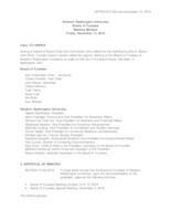 WWU Board of Trustees Minutes: 2018-12-14
