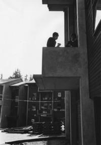 1968 Fairhaven Students on Balcony