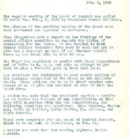 AS Board Minutes 1935-02