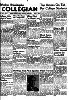 Western Washington Collegian - 1954 April 2
