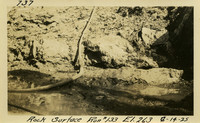 Lower Baker River dam construction 1925-06-14 Rock Surface Run #133 El.263
