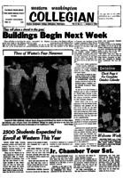 Western Washington Collegian - 1958 October 3