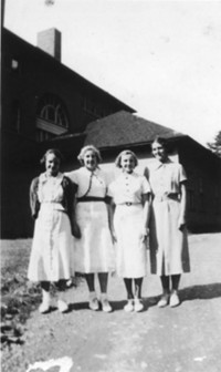 1936 Eighth Grade Girls