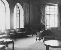 1965 Women's Residence Hall: Living Room