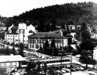 Downtown Bellingham and Sehome Hill