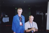 2007 Reunion--Patricia (Brown) Hood and Ray Taylor