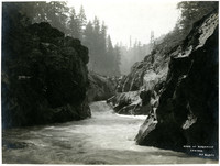 View from head of Nisqually River Canyon