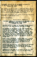 AS Board Minutes 1926-08