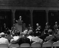 1968 Bond Hall: Dedication