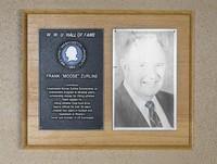 "Hall of Fame Plaque: Frank ""Moose"" Zurline, Football, Class of 1990"