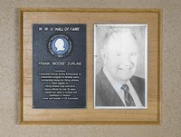 "Hall of Fame Plaque: Frank ""Moose"" Zurline, Football, Class of 1990"