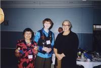 2007 Reunion--Bobbie Bouverat, Marian Alexander, and Toni Nagel at the Banquet