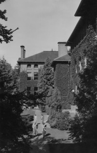 1948 Main Building: Side Front View