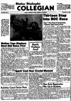 Western Washington Collegian - 1956 November 9