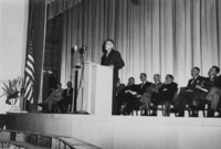 1952 Auditorium-Music Building: Dedication