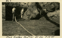Lower Baker River dam construction 1925-07-14 Rock Surface Run #161 El.301