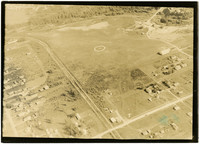 Graham Airport - aerial view of landing field