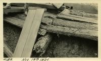 Lower Baker River dam construction 1924-11-19 Timber